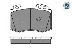Brake pads Front 330x32mm with drilled discs